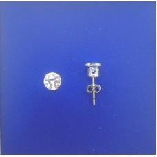 """1315 CZ Stud Earrings 5mm 0.20"""""""