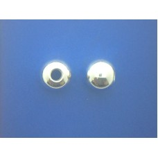 """2469 Polished Round Ball Pendant S/S 0.38"""""""