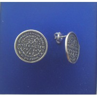 1474P Water Meter Post Earrings 0.63""